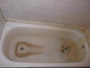 Vasca Da Bagno Ruggine : Pulizia della vasca come lavare un bagno