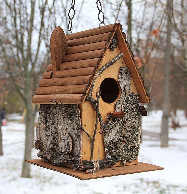 Кормушка для птиц своими руками: оригинальные идеи